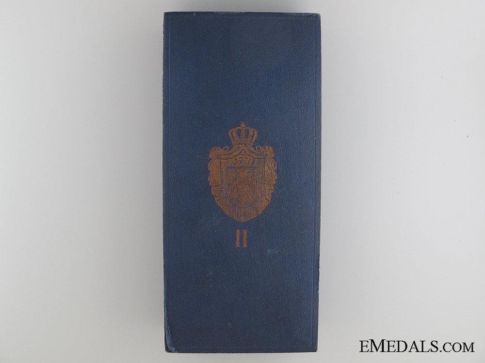 eMedals-A WWI Period Order of St.Sava Case