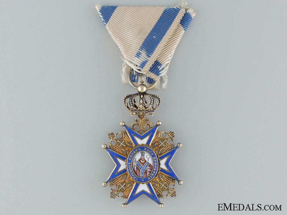 eMedals-A WWI Serbian Order of St.Sava; Fourth Class