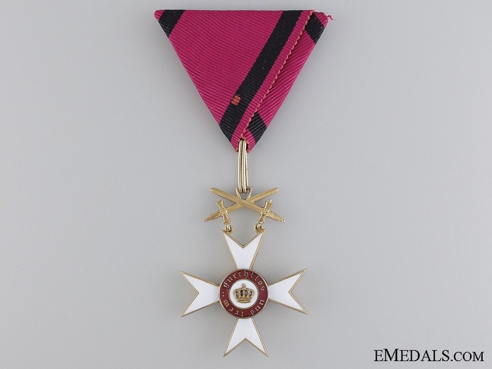 eMedals-A WWI Wurttemberg Order of the Crown; 1870-1918