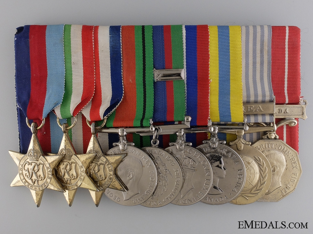 eMedals-A WWII & Korean War Group to the Royal Canadian Regiment