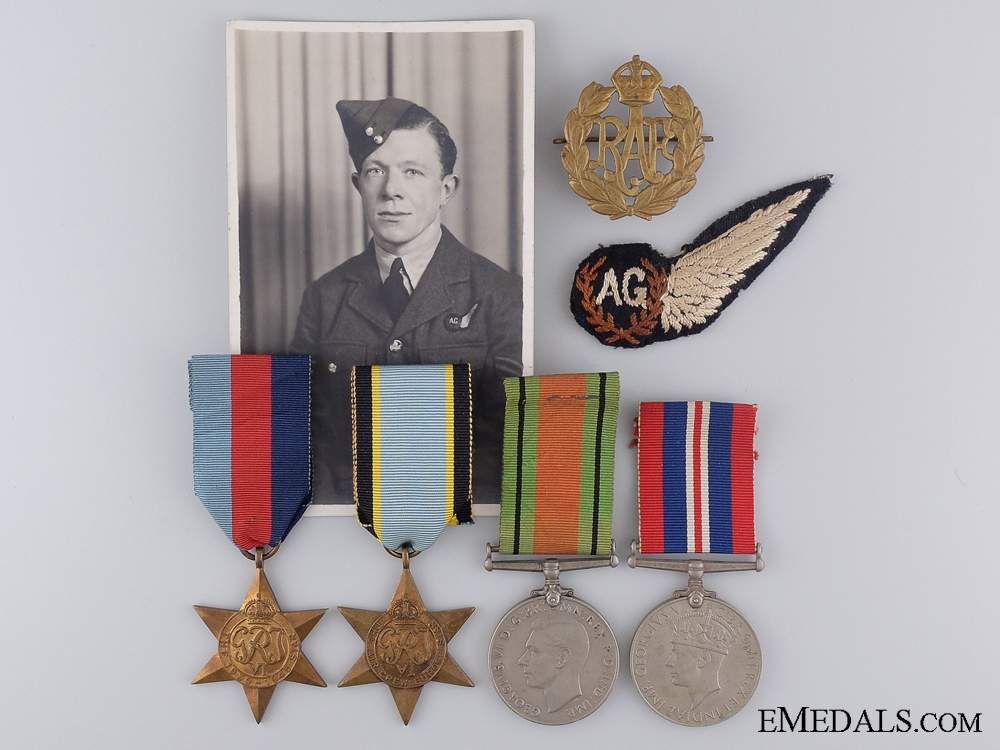eMedals-A WWII Air Crew Europe Group to Sergeant M.A. Gardiner,