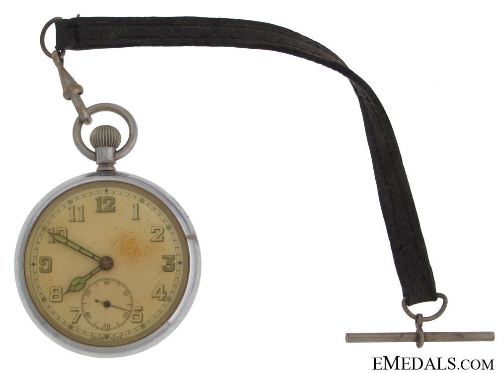 eMedals-A WWII Canadian Pocket Watch