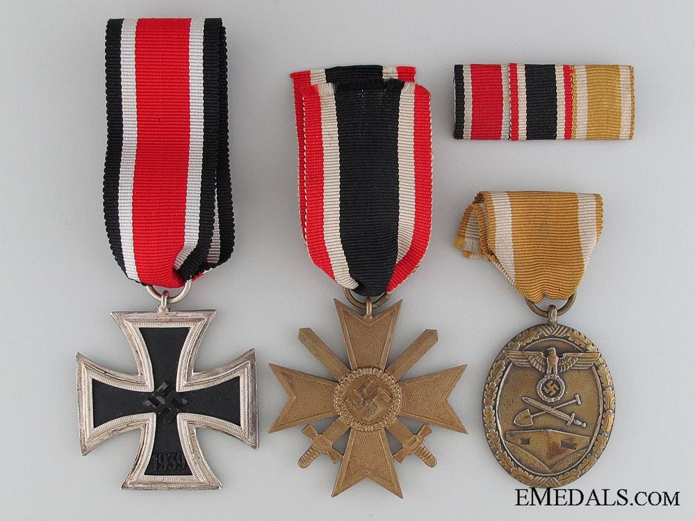 eMedals-A WWII German Group of Three Awards