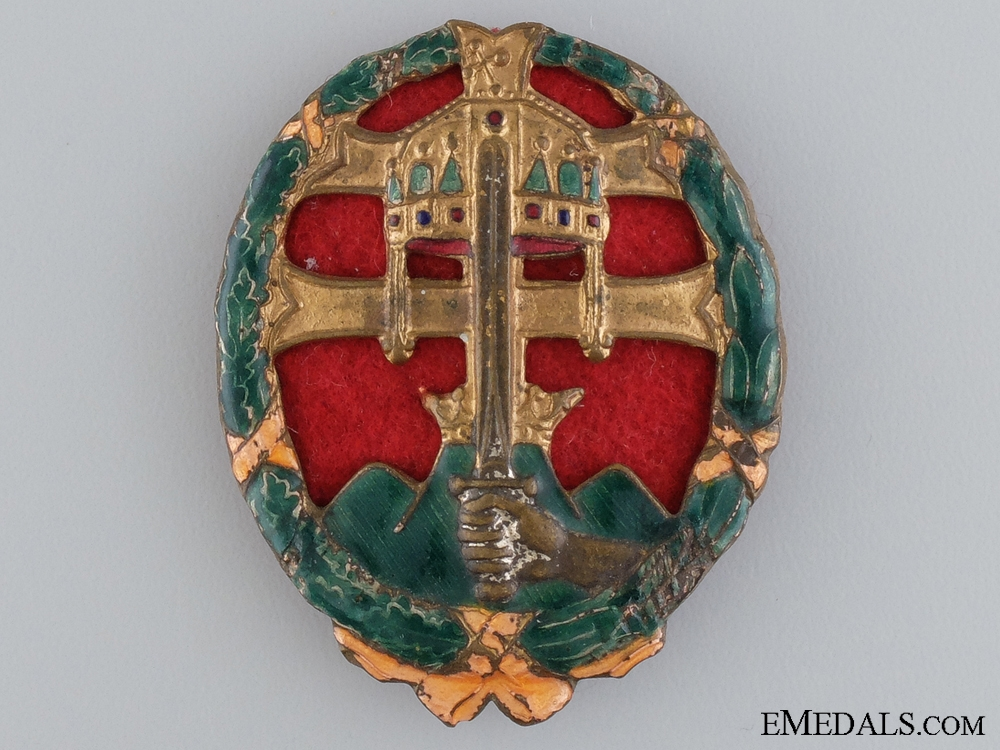 eMedals-A WWII Hungarian Officers Combat Badge