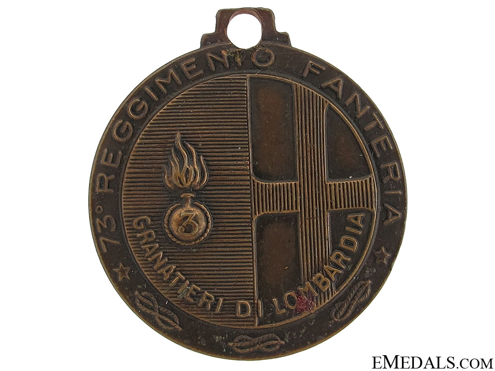 eMedals-A WWII Italian 73d Division Medal