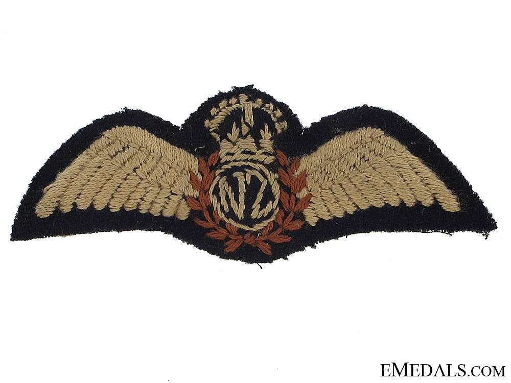 eMedals-A WWII RNZAF Pilots Wing