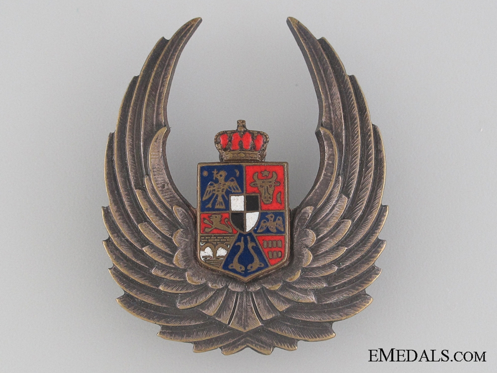 eMedals-A WWII Romanian Air Force Observer's Badge