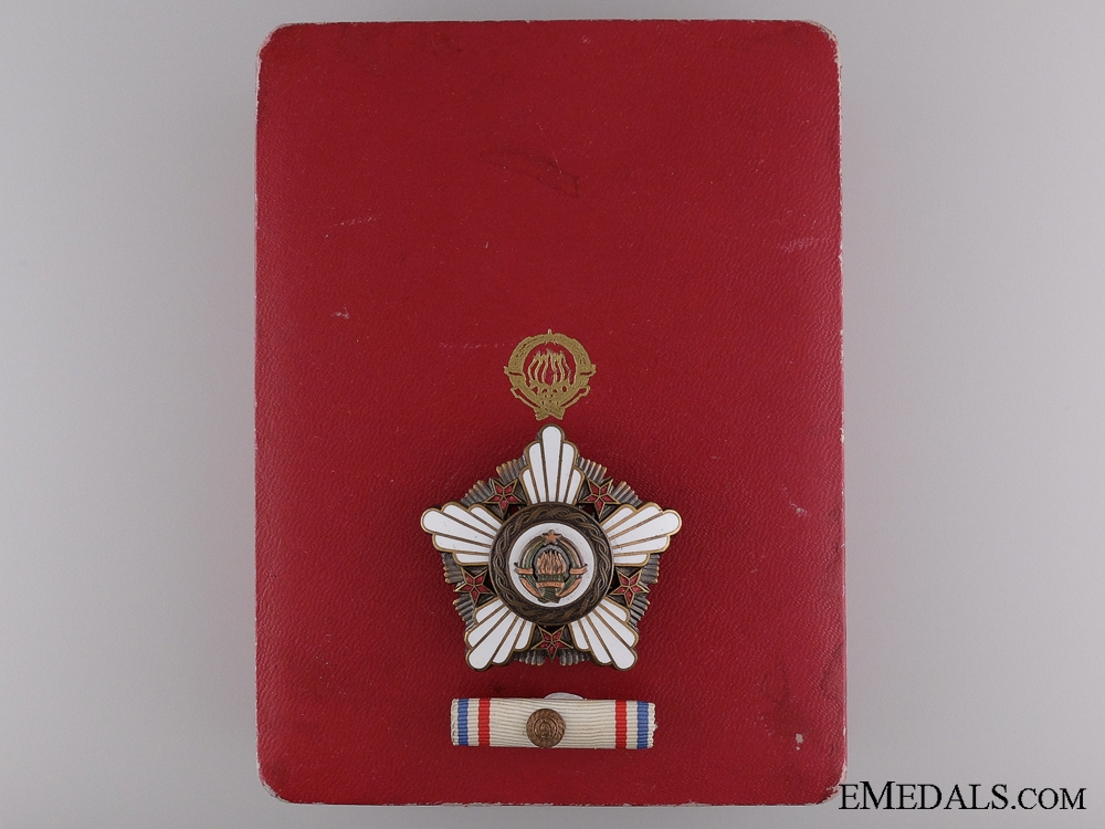 eMedals-A Yugoslavian Order of the Republic with Bronze Wreath