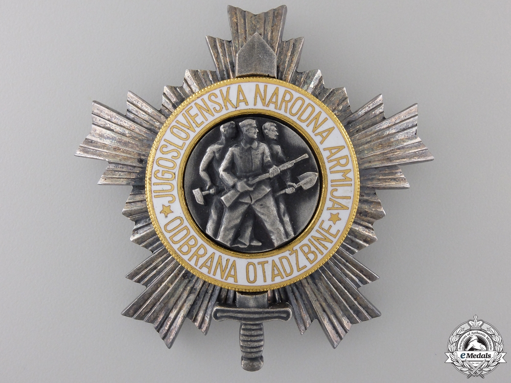 eMedals-A Yugoslavian Order of the People's Army