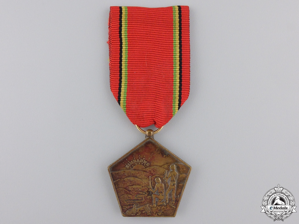 eMedals-A Zimbabwe Liberation Medal; Numbered