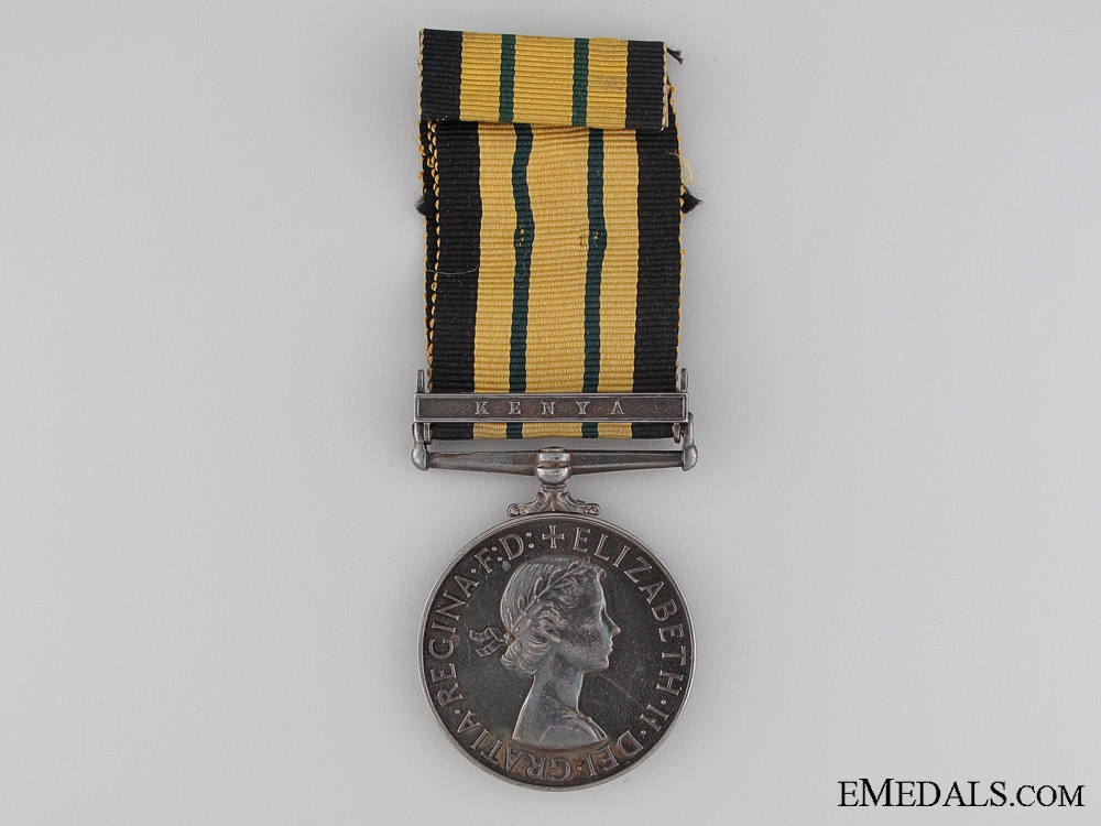 eMedals-Africa General Service Medal to the Royal Air Force