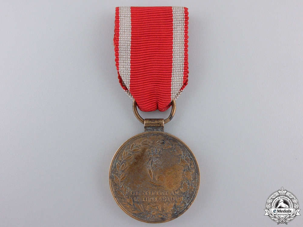 eMedals-An 1840 Hessen Field Honour Decoration