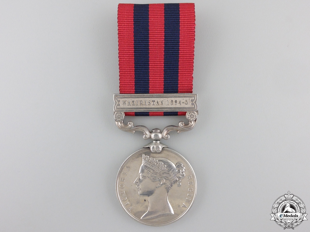 eMedals-An 1854-1895 India General Service Medal to the 3rd Sikh Infantry  Consignment #41