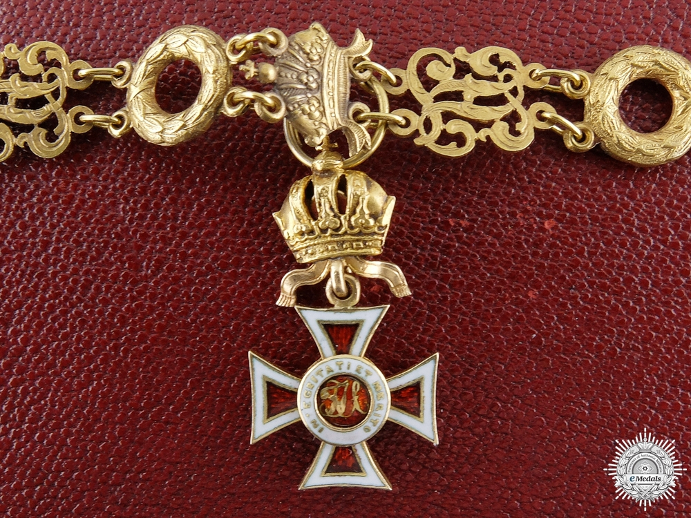eMedals-An 1860's Miniature Order of Leopold in Gold