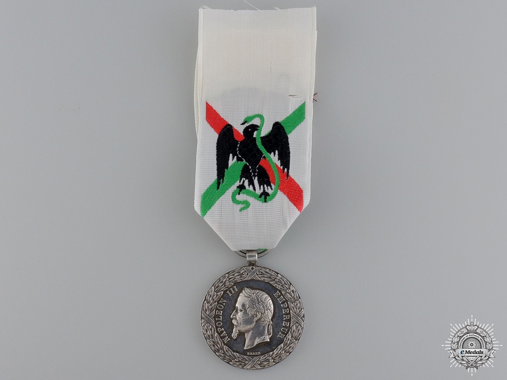 eMedals-An 1862-63 Mexico Expedition Medal