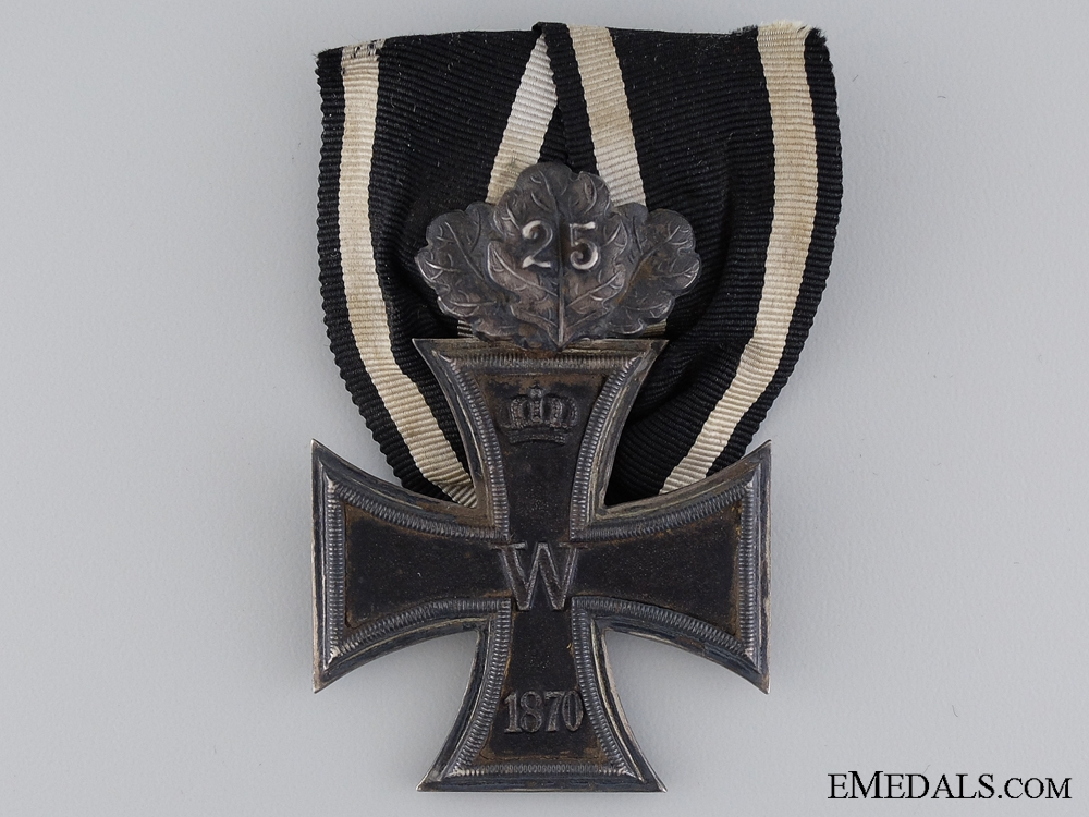 eMedals-An 1870 Iron Cross Second Class with Jubilee Spange