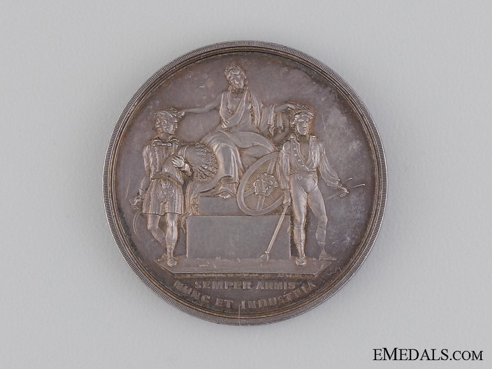 eMedals-An 1876 Highland Society of Scotland Medal
