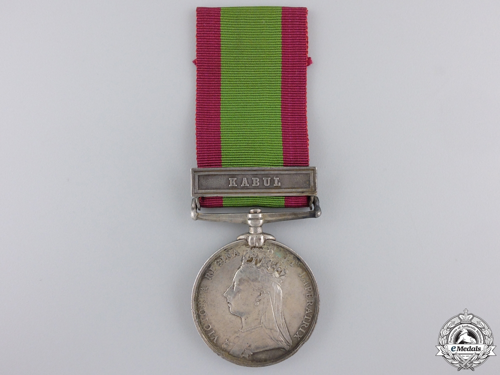 eMedals-An 1878-82 Afghanistan War Medal to the 72nd Highlanders
