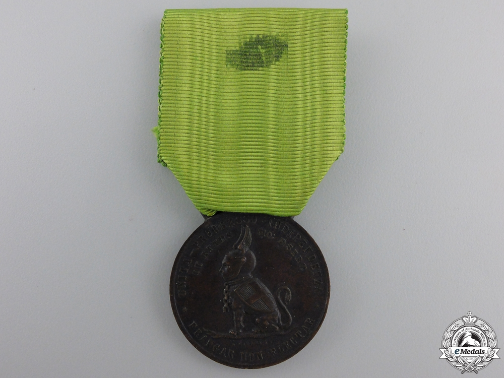 eMedals-An 1884 Duke of Tuscany Independence Medal
