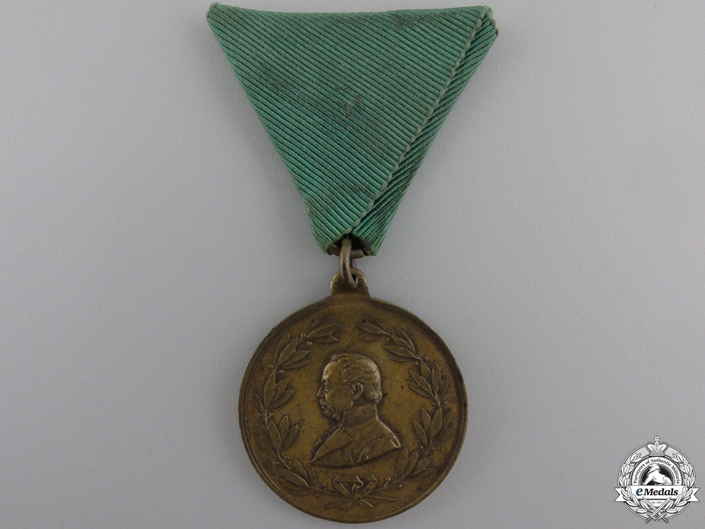 eMedals-An 1892 Radetzky Memorial Monument Medal 1892