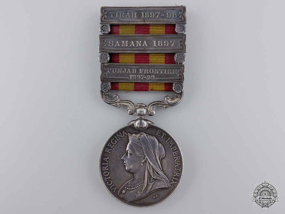 eMedals-An 1895-1902 Indian Medal to the 20th Madras Light Infantry