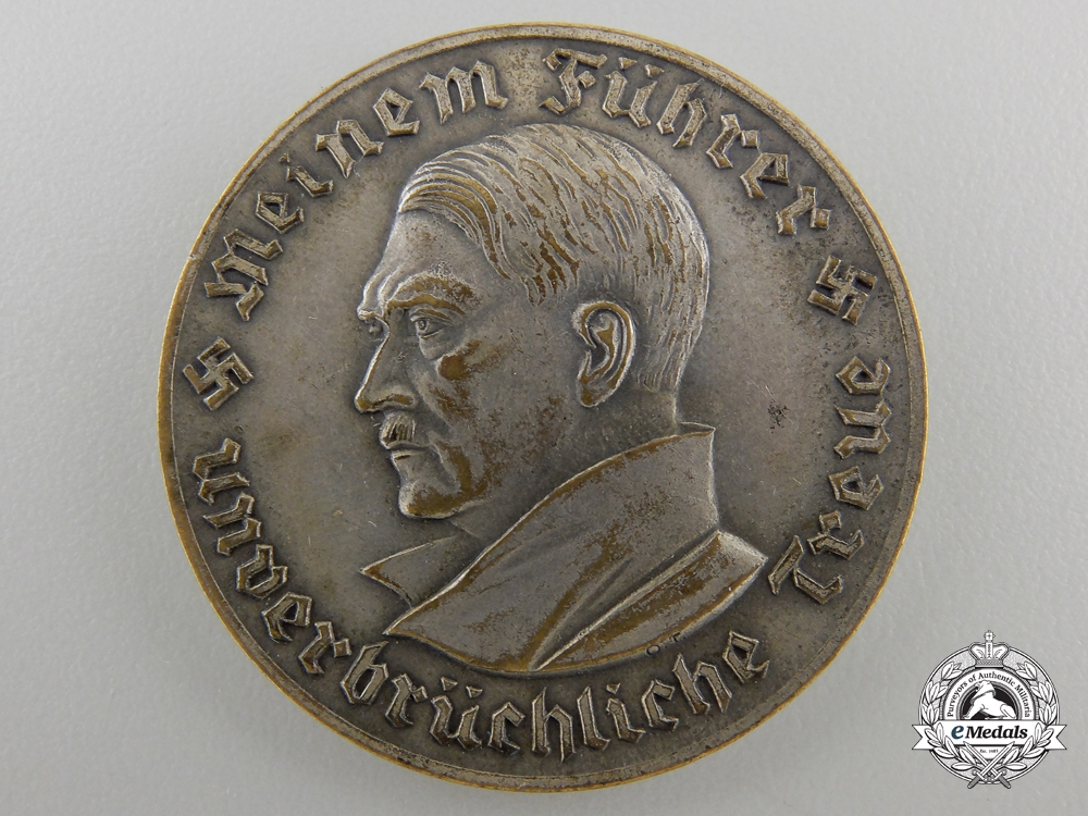 eMedals-An 1934 NSDAP Hall of Honour Inauguration at Buchholz Medal