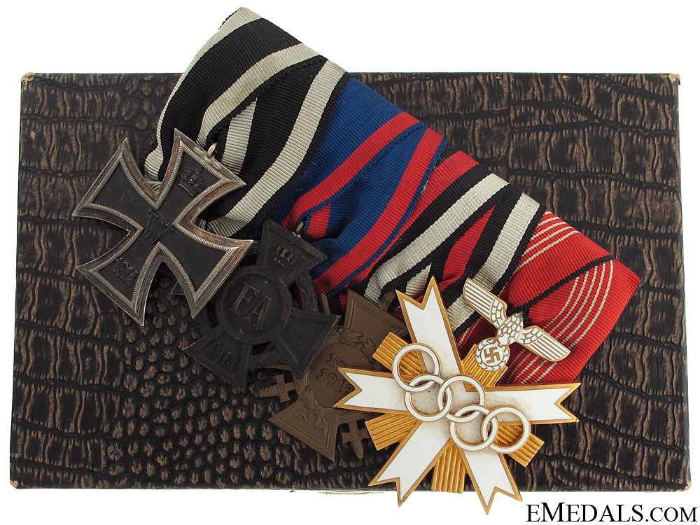 eMedals-An 1936 Olympic Decoration Group