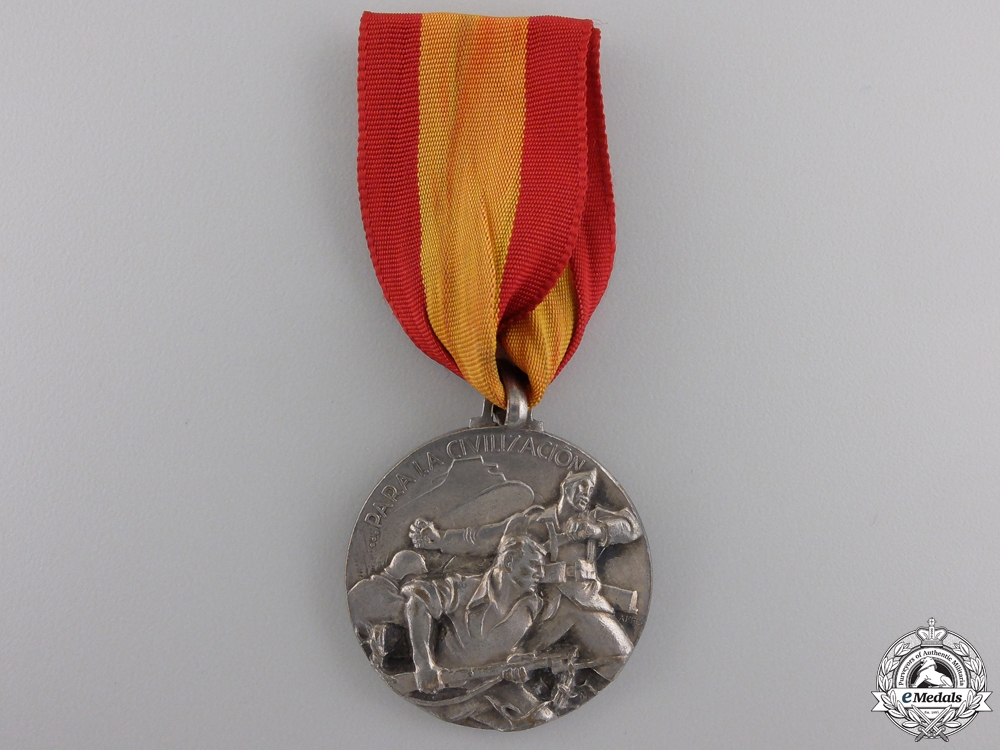 eMedals-An 1937 Italian Battle of Bilbao Campaign Medal
