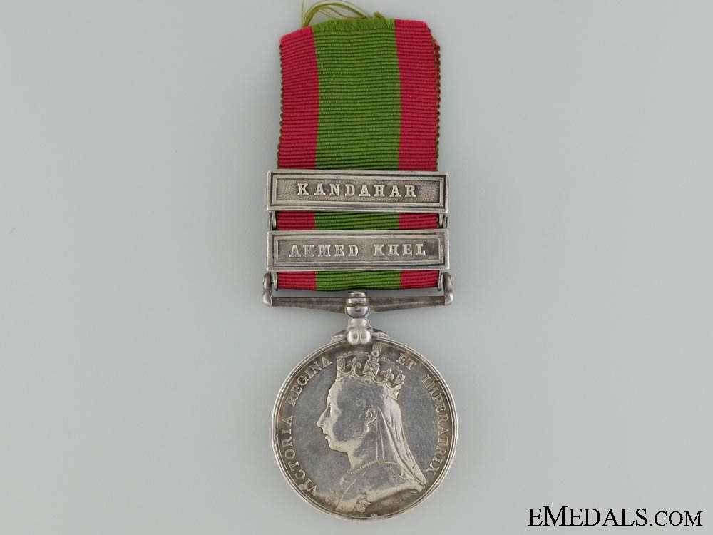 eMedals-An Afghanistan Medal to the 2nd Sikh Infantry
