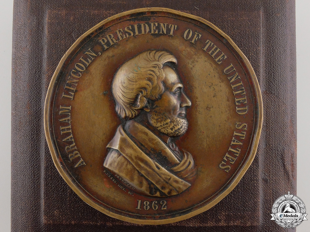 eMedals-An American 1862 Abraham Lincoln Indian Peace Medal