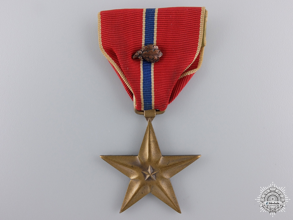 eMedals-An American Bronze Star with Oak Leaf Cluster; Named
