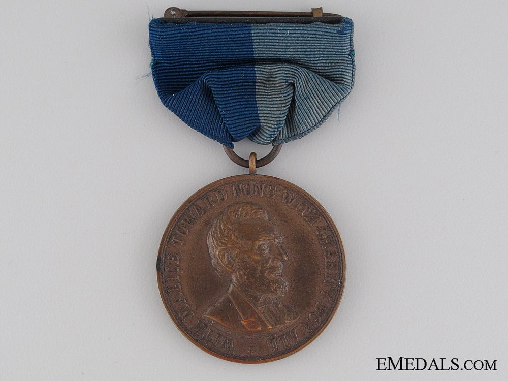 eMedals-An American Civil War Army Campaign Medal; Numbered