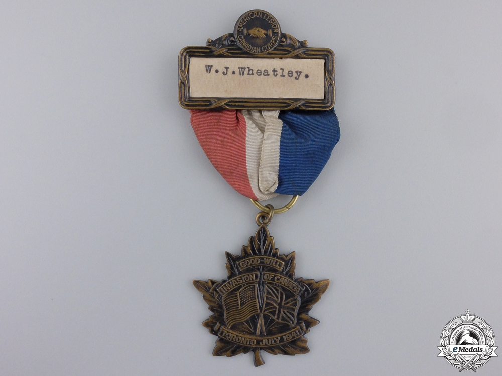 eMedals-An American Legion and Canadian Corps Convention Medal 1941