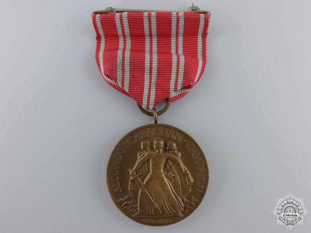eMedals-An American Navy Second Nicaraguan Campaign Medal 1926-1930