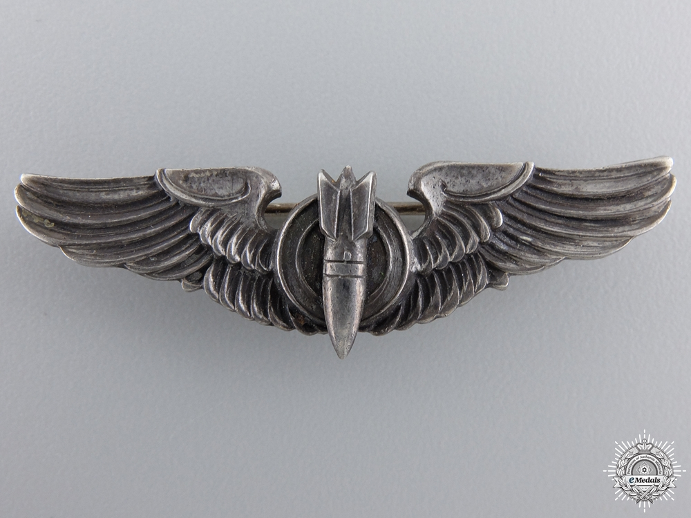 eMedals-An American Second War Bombadier Wings by Amico