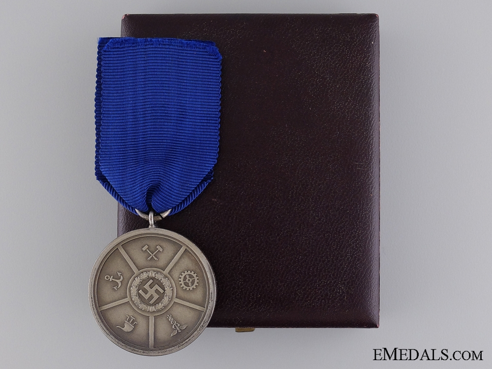 eMedals-An Anhalt Industry Chamber of Commerce Faithful Work Service Medal