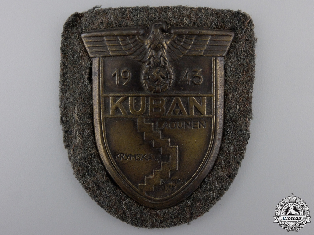 eMedals-An Army Issue Kuban Campaign Shield