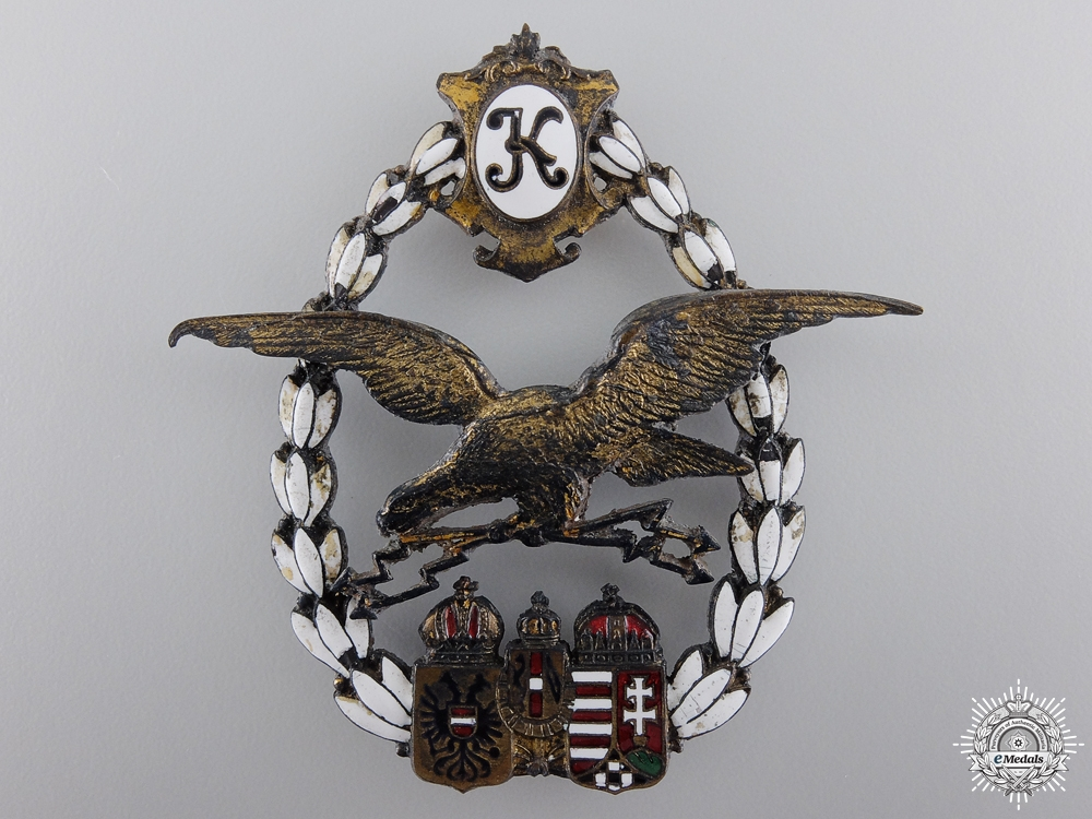 eMedals-An Austrian General Flying Badge 1917-18