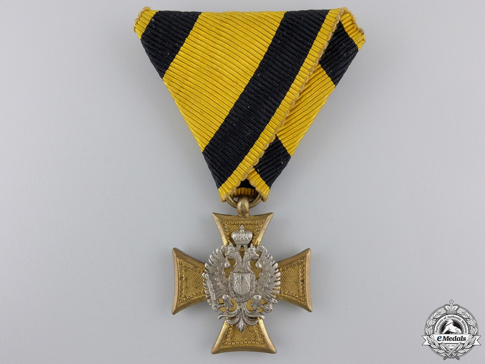 eMedals-An Austrian Long Service Cross with Mother of Pearl