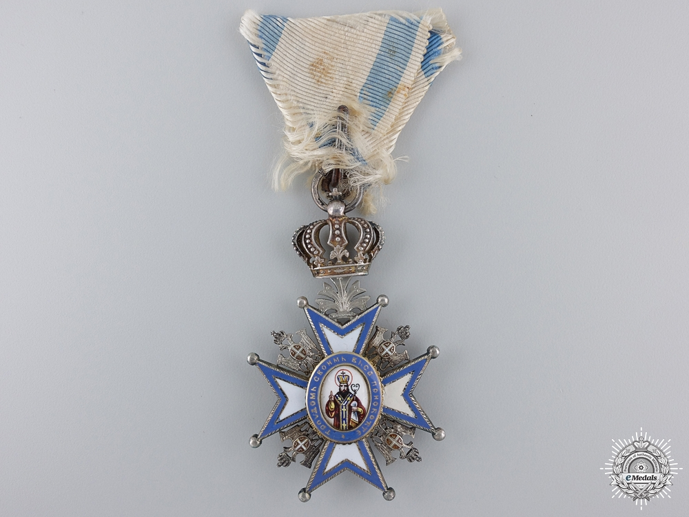 eMedals-An Austrian Made Serbian Order of St. Sava by Scheid