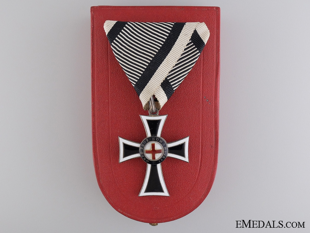 eMedals-An Austrian Marian Cross of the German Knight Order, Cased