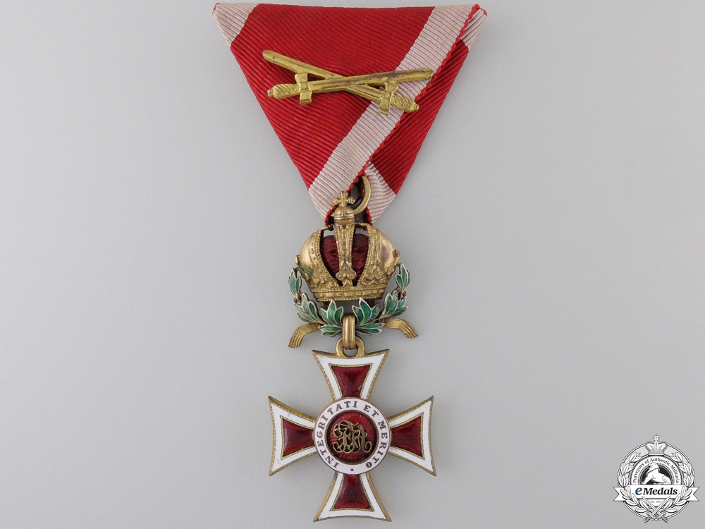 eMedals-An Austrian Order of Leopold with War Decoration; Knight`s Cross