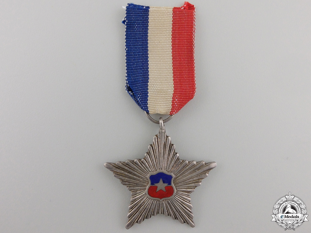 eMedals-An Chilean Order of Civil Merit; Knight