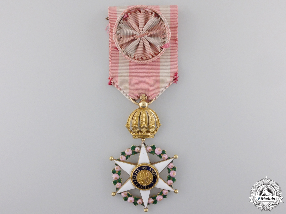 eMedals-An Early Brazilian Order of the Rose in Gold c.1860