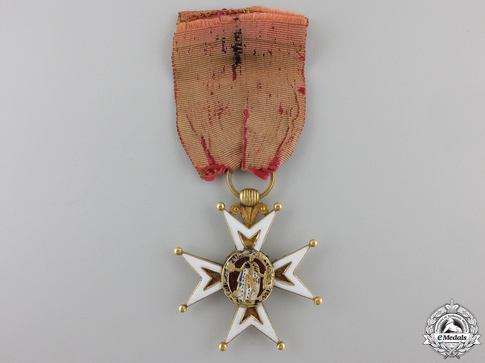 eMedals-An Early French Order of St. Louis in Gold; circa 1800