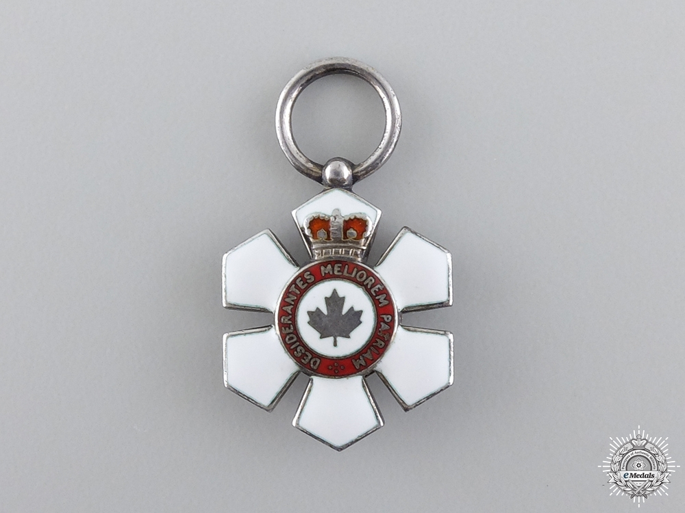 eMedals-An Early Miniature Order of Canada by Garrard and Co