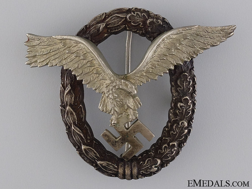 eMedals-An Early Pilot's Badge by maker IMME