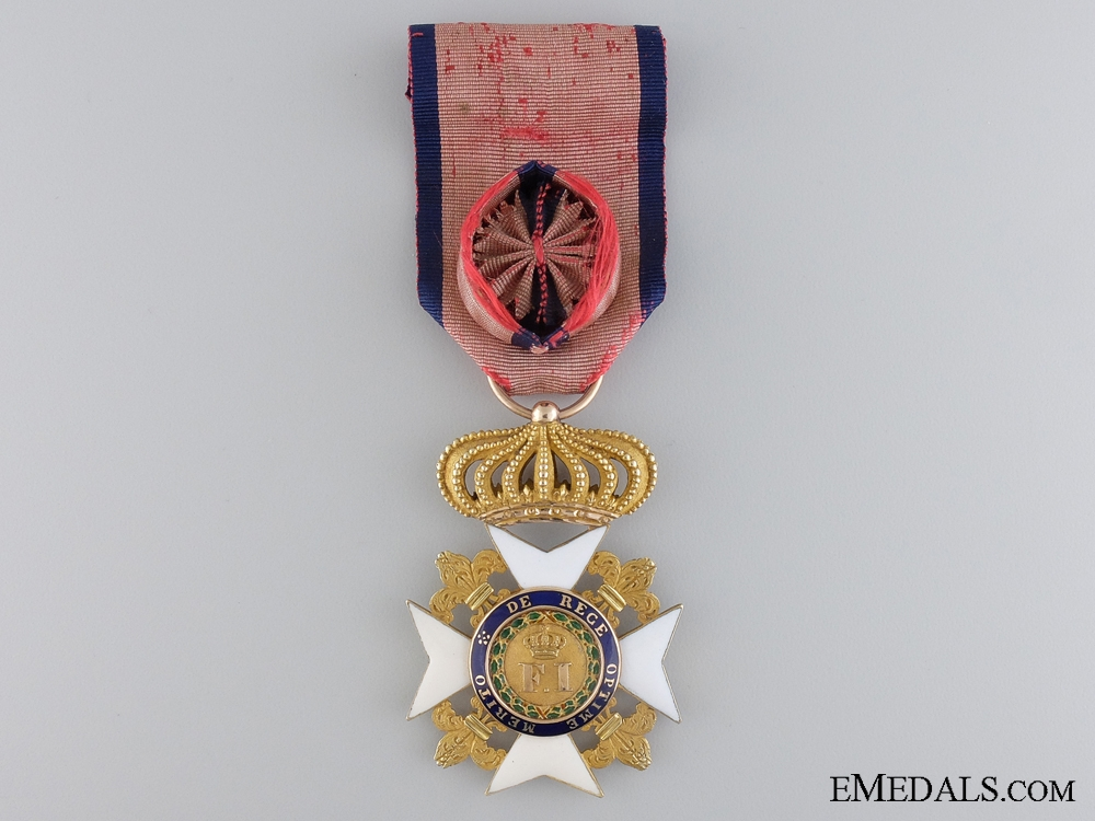 eMedals-An Early Sicilian Royal Order of Francis I; Officers Cross c.1830