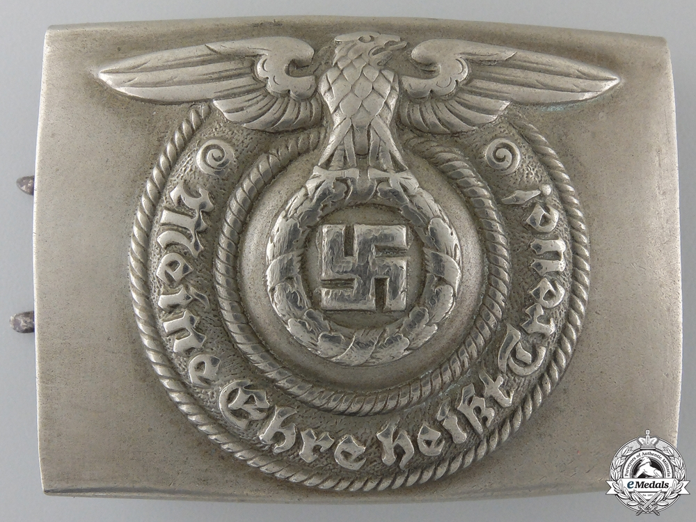 eMedals-An Early SS Belt Buckle by Overhoff & Cie, Ludenscheid