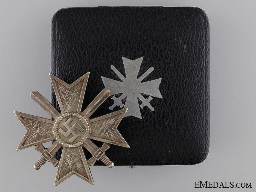 eMedals-An Early War Merit Cross First Class 1939 with Case of Issue